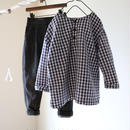 ファーマーズシャツ(ギンガム) 110