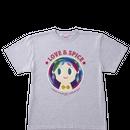 【特別価格】コラボTシャツ オリジナルデザイン グレー  ユニセックスL
