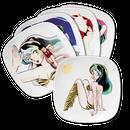 【特別価格】限定コラボ皿  原画デザイン  5枚セット