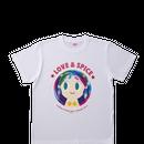 【特別価格】コラボTシャツ オリジナルデザイン  ホワイト ユニセックス M