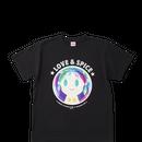 【特別価格】コラボTシャツ オリジナルデザイン ブラック ユニセックスM/L