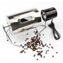 コーヒーロースター 珈琲焙煎機 電動回転 小型 自家焙煎 コーヒー豆 煎る ステンレス製 直火