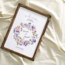 《A3》ウェルカムボード(bouquet)