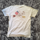 Power Hands T shirt (背面プリント)