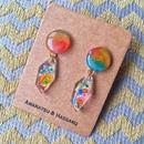 カラーボムピアス/ Color Bomb Earrings