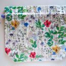 リバティトラベル巾着 イルマ縮小版 ホワイト