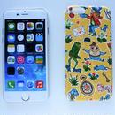 iPhone6/6sケース/リバティ・ギャリーモジャースレイナード・イエロー