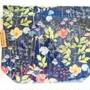リバティトラベル巾着 イルマ縮小版 ネイビー