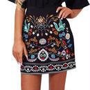 Bohoフレアミニスカート