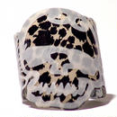 Kiku -Skull Brown Leopard