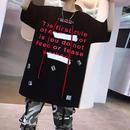 【GOOD】レッドロング紐付きTシャツ