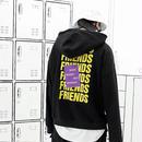 【STREET】FRIENDSデザインフーディー 3カラー