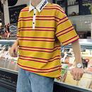 【大人気】ボーダー襟Tシャツ 3カラー