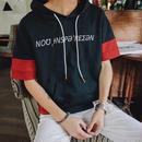 [COOL]NOUフードデザインTシャツ 2カラー