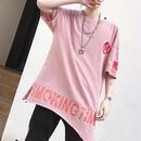[COOL]スターデザインビックTシャツ 2カラー