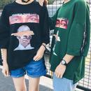 [トレンド]Thinking about youデザインTシャツ 2カラー