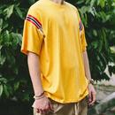 [NEW]イエローカラーラインTシャツ