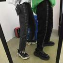 【GOOD】ボーダーラインデザインラフパンツ 2カラー
