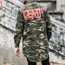 [HOT]DEATHデザイン迷彩シャツ