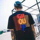 [HOT]GROUPデザインTシャツ 2カラー