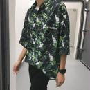 【DOPE】リーフデザインビックシャツ