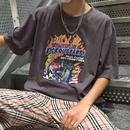 【STREET】グレープリントデザインTシャツ