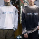 【2019SS】MADE EXTREMEデザインロングTシャツ 2カラー