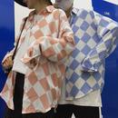 【売れ筋】2トーンデザインモノクロシャツ 3カラー