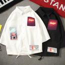 [HOT]ネオンプリントシャツ 2カラー