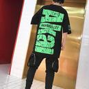 [大人気]AkanデザインビックサイズTシャツ 2カラー