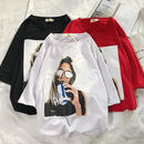 [GOOD]レディーデザインTシャツ 3カラー