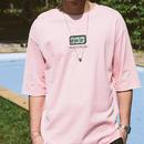 [COOL]Mah-jonggデザインピンクTシャツ