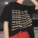 【HOT】LOVE ARTデザインTシャツ 3カラー