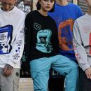 【大人気】ゲームボーイデザインロングTシャツ 4カラー