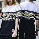 [売れ筋]迷彩3カラーデザインTシャツ