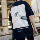 [GOOD]ハンドデザインビックTシャツ 2カラー