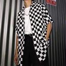 【GREAT】モノクロビックサイズシャツ