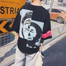 [COOL]ピエロオーバーサイズTシャツ