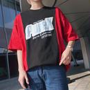 【HOT】PureデザインTシャツ 2カラー