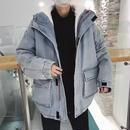 【GOOD】ウール厚めデザインデニムジャケット 2カラー
