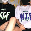 [売れ筋]WTFデザインTシャツ 2カラー