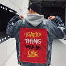 【HOT】Every Thingデザインデニムジャケット