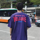 【HOT】WELCOMEデザインTシャツ 3カラー