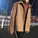 【売り切れ間近】シンプルデザインウールジャケット 2カラー