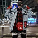 【STREET】奇抜デザインデニムジャケット