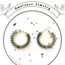 Blue sapphire gradation pierce