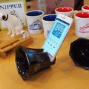 ビクター ニッパー 陶器製 スマホスピーカー