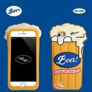 "【Wiggle Wiggle】スマホカバー""Beer""【iPhone8/7/6s/6対応】"