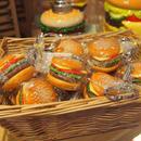 ハンバーガー キーホルダー