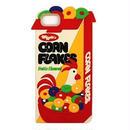 """【Wiggle Wiggle】スマホカバー""""CORN FLAKES""""【iPhone8/7/6s/6対応】"""